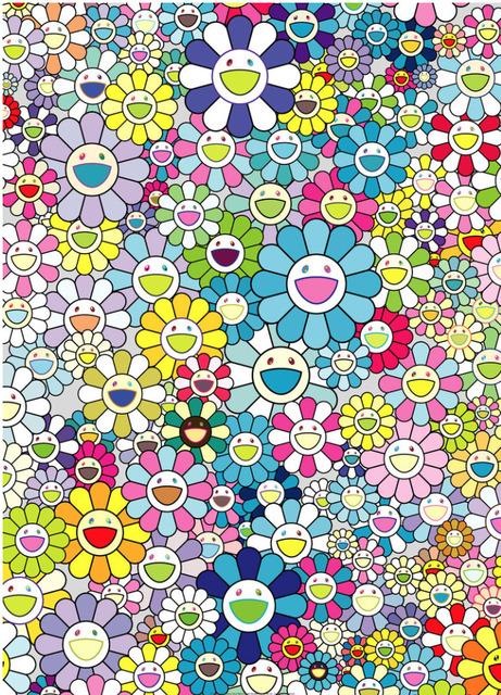 Takashi Murakami, 'Champagne Supernova Blue', 2013, MSP Modern