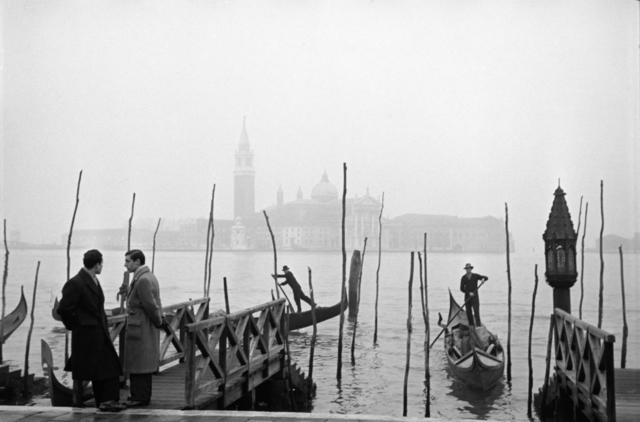 , 'Gondolas, Venice,' 1950, Artist's Proof