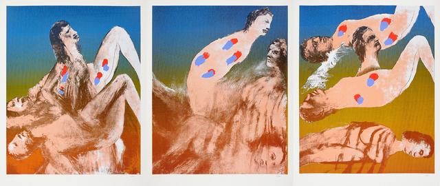 Sidney Nolan, 'Inferno I', 1967-1968, Charles Nodrum Gallery
