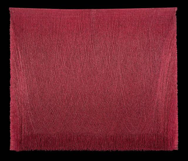 , 'Lienzo ceremonial 25 (magenta),' 1998, La Patinoire Royale / Galerie Valerie Bach