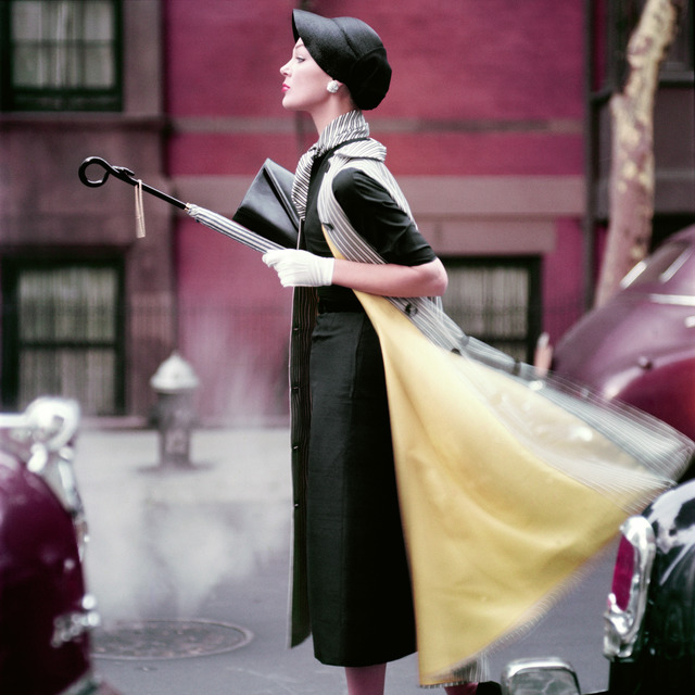 , 'Traffic, Ivy Nicholson in New York, Vogue,' 1957, Augusta Edwards Fine Art