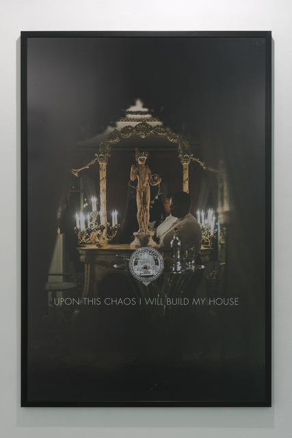 , 'Upon this chaos I will build my house,' 2017, ADN Galeria (Barcelona)