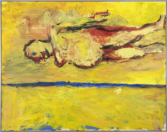 , 'Frau am Strand (Woman on the Beach),' 1981, Gagosian