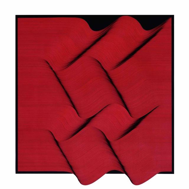, 'Superficie Rossa,' 2018, Contempop Gallery