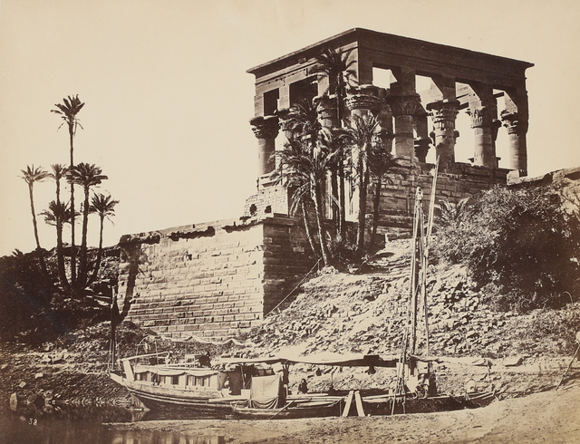 Francis Frith, 'Hypaethral Temple, Philae', 1857, Seagrave Gallery