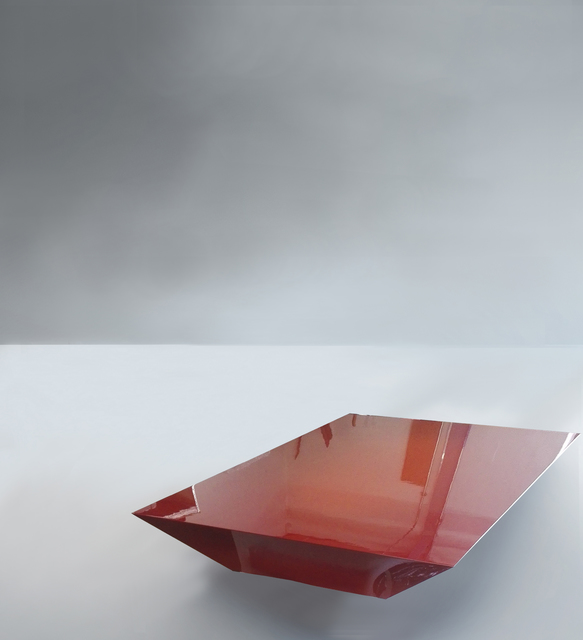 , 'Coffee Table, Urushi Project,' 2017, Galerie Philippe Gravier