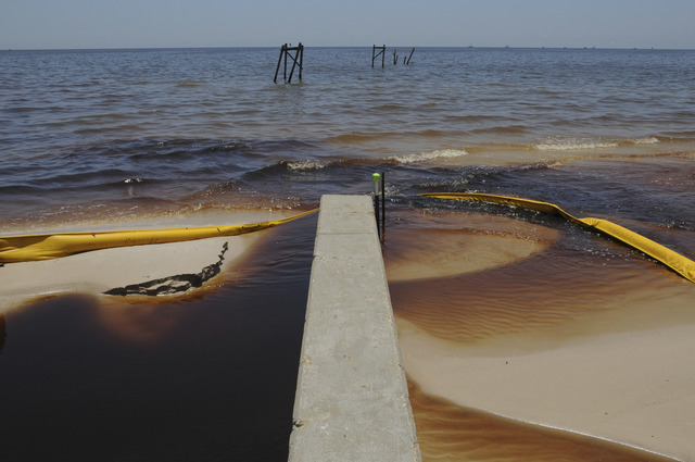 , 'Oiled Water Coming Inland, Waveland, Mississippi, Early July, 2010,' 2010, Cantor Fitzgerald Gallery, Haverford College