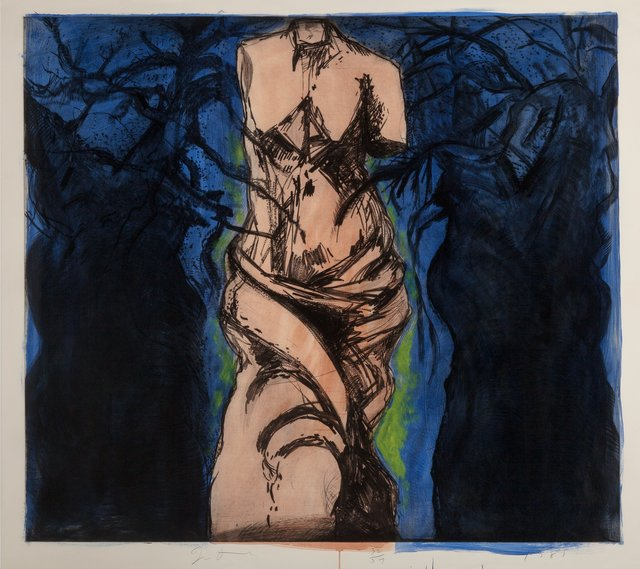 Jim Dine, 'Rise Up Solitude', 1985, Heritage Auctions