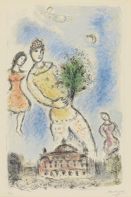 Marc Chagall, 'Dans Ciel de l'Opera', 1980, Christie's
