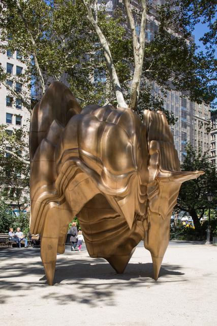 , 'Caldera,' 2008-2014, Madison Square Park