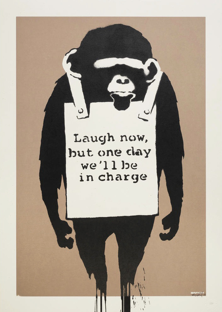 Banksy, 'Laugh Now - Signed ', 2003, Hang-Up Gallery