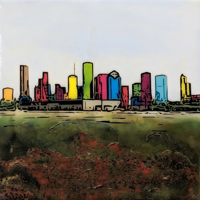 Joel Anderson, 'H-Town (Houston) Skyline 62', 2019, Archway Gallery