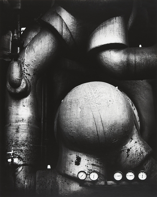 Ansel Adams, 'Pipes and Guages', 1938, Photography, Silvre galatin, The Halsted Gallery