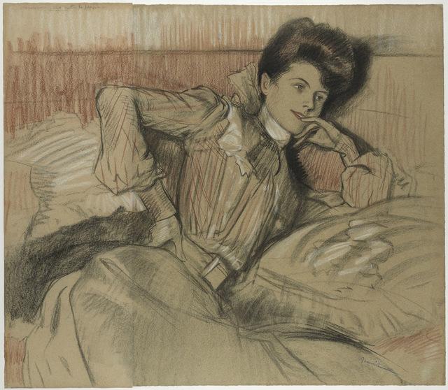 , 'Femme allongée,' , Stoppenbach & Delestre