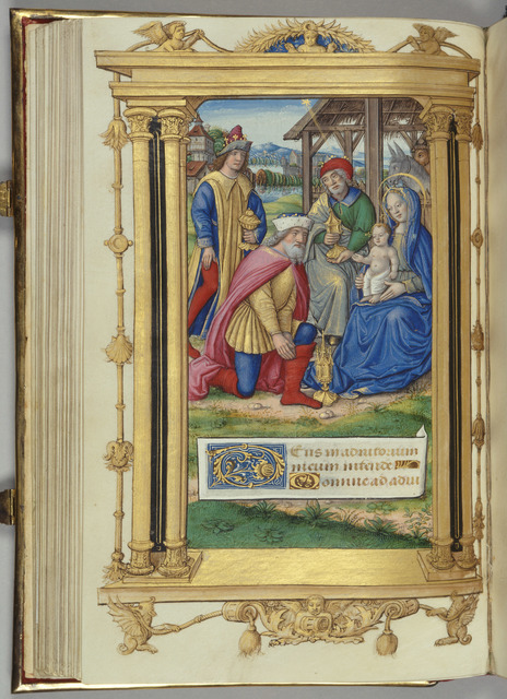 , 'The Adoration of the Magi from 'Cardinal York's Book of Hours',' ca. 1500, Royal Collection Trust