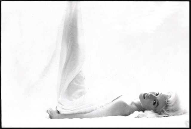 Bert Stern, 'Marilyn Monroe: From the Last Sitting (In Bed, Leg Up)', 1962, Photography, Archival Pigment Print, Staley-Wise Gallery