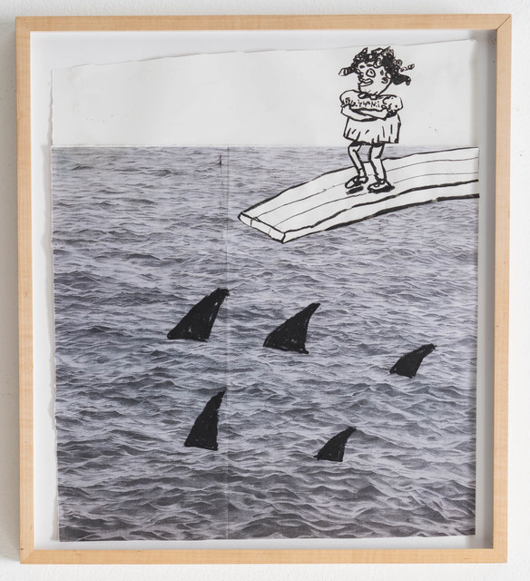 , 'Portrait of the Young Artist Walking the Plank,' 2014, Rosamund Felsen Gallery