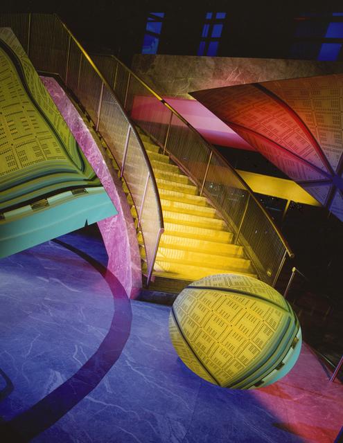 Barbara Kasten, 'Architectural Site 7, World Financial Center, NY, July 14', 1986, Kadel Willborn