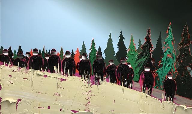 , 'Wall,' 2017, Galerie Antoine Ertaskiran