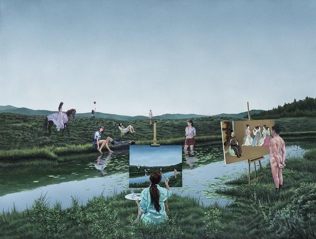 Tamen 他们, 'Seven Fairies', 2015, Painting, Oil Canvas, Art+ Shanghai Gallery
