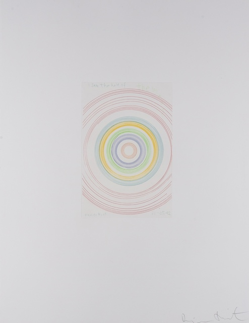 Damien Hirst, 'I Saw Half of the Moon (from In a Spin, The Action of the World on Things I)', 2002, Print, Etching printed in colours, Forum Auctions