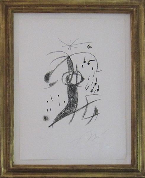 , 'From Maravillas con Variaciones Acrosticas en el Jardin de Miro ,' 1975, David Barnett Gallery