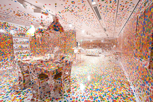 , 'The Obliteration Room,' 2002, Seattle Art Museum