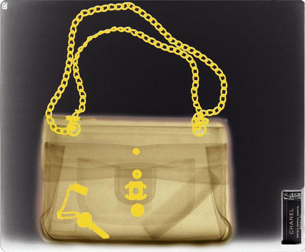 , 'X-Ray Fashion Ed: Chanel Gold,' 2011, MM Fine Art