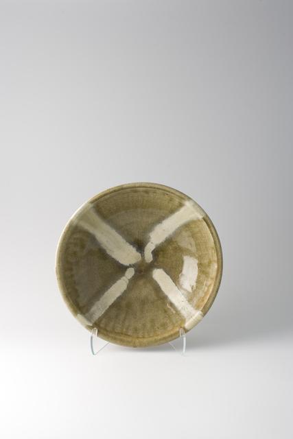Shōji Hamada, 'Bowl, ash glaze with trailed decoration', 1957, Pucker Gallery