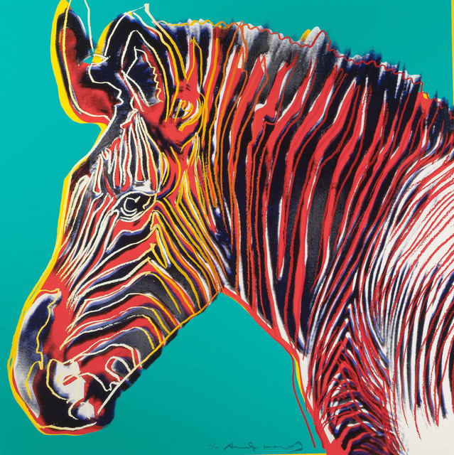 Andy Warhol, 'Grevys Zebra (FS II.300)', 1983, Revolver Gallery
