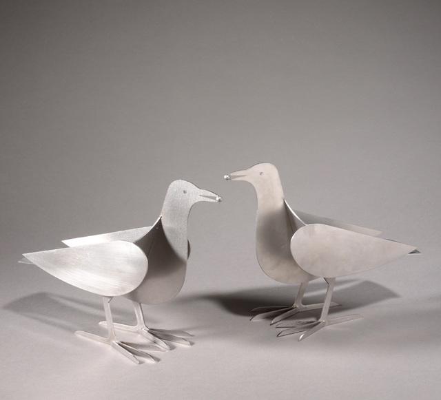 , 'Bougeoirs Pigeons,' ca. 1990, Lebreton