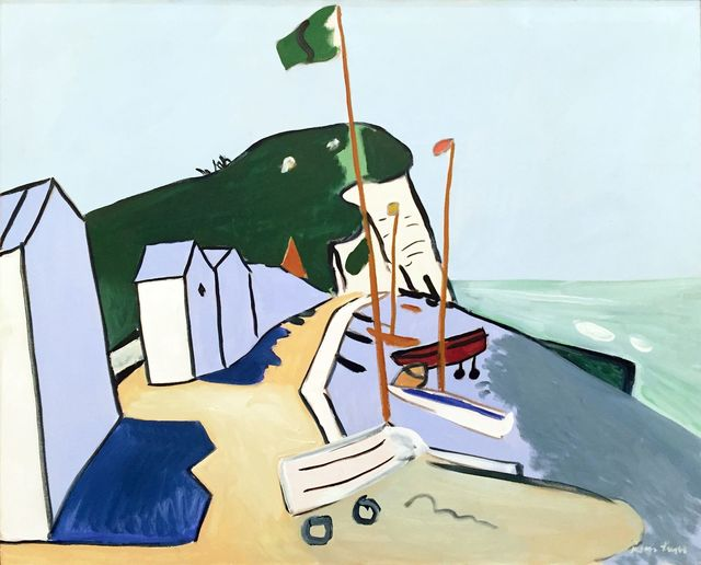 , 'The Beach at Veulettes,' 1974, Childs Gallery
