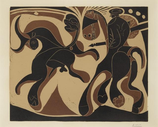 Pablo Picasso, 'Après la Pique (B. 910; Ba. 1230)', 1959, Print, Linoleum cut printed in colors, Sotheby's