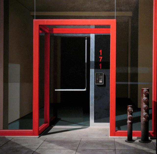 , 'Red Entrance ,' 2006, Bernarducci Gallery