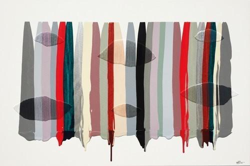, 'Fils I Colors CCXLVI,' 2015, Matthew Rachman Gallery