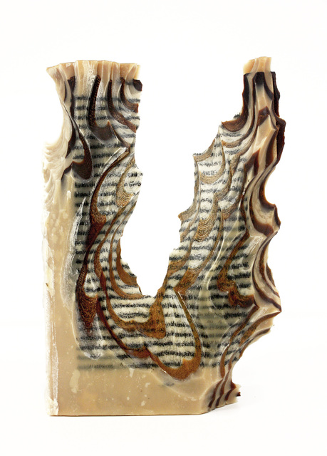 , 'Carving 35 Reading our Remains,' 2015, Adah Rose Gallery