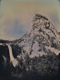 Nevada Fall and Liberty Cap, Yosemite, CA