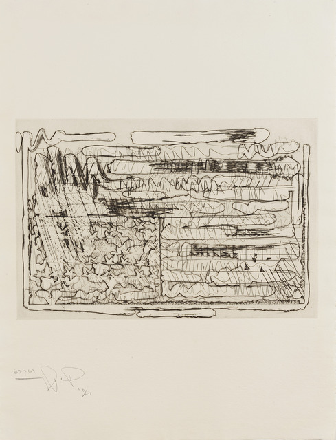 , 'Flag (Large),' 1969, Sims Reed Gallery