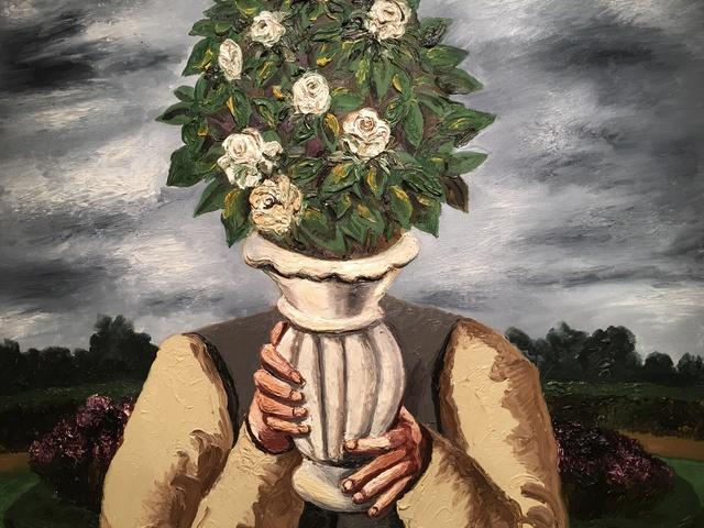 , 'White Roses,' 1993, Hal Bromm