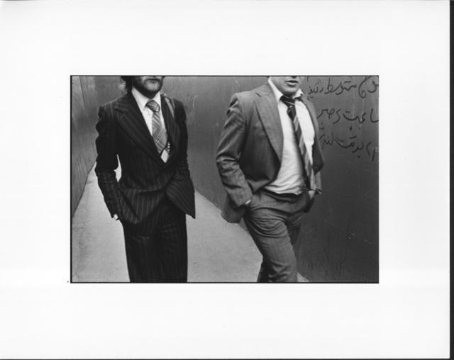 Erich Hartmann, ' Two men in London', 1976, °CLAIR Galerie