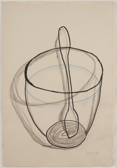, 'Untitled (Bowl and Spoon),' 1971, Francis M. Naumann Fine Art