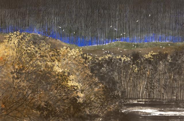 Zi Yao 子尧 Shen 沈, 'Midnight Forest', 2018, White Space Art Asia