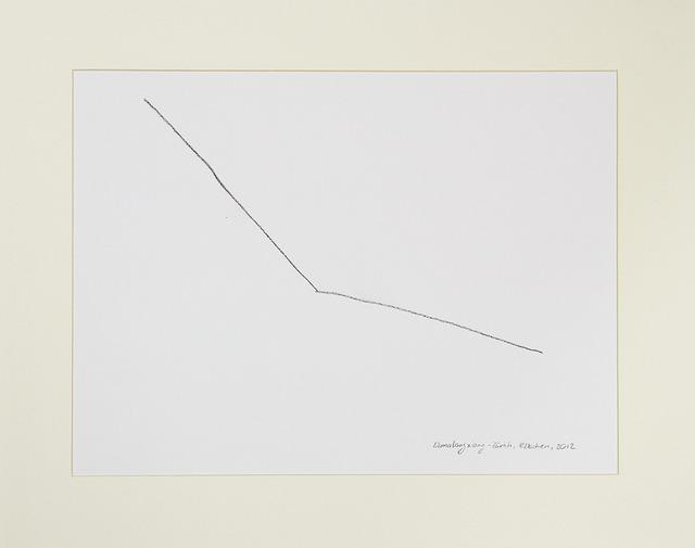 , 'Desire Lines / Tibet - Zurich,' 2013, A|B|C ontemporary