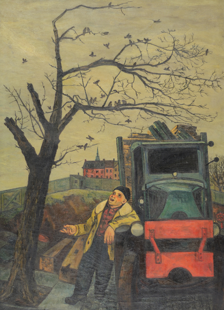 , 'The Junkman's Serenade,' ca. 1935, Caldwell Gallery Hudson