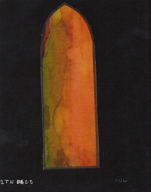 , '24 - Estat previ - Estudi de color transepte nord,' , Sala Parés