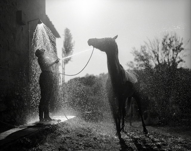 , 'Tuscan Shower, Tuscany,' 1995-printed later, Scott Nichols Gallery