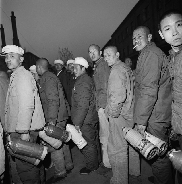 , 'Convicts Fetching Water, Baoding, Hebei Province,' 1995, Blindspot Gallery