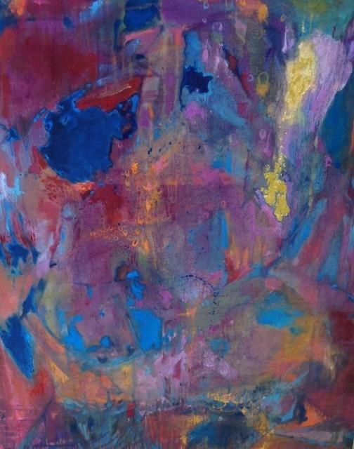 , 'Chasm Blue,' 2016, InLiquid