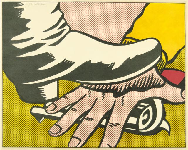 Roy Lichtenstein, 'Foot and Hand', 1964, Christopher-Clark Fine Art