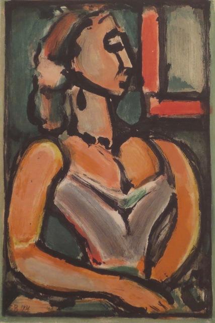 , 'Femme fiere,' 1938, Isselbacher Gallery